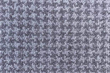 Axminster Cut Pile wool carpe grey houndstooth pattern