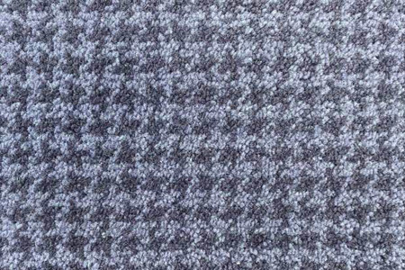 Axminster Cut Pile wool carpet grey houndstooth pattern