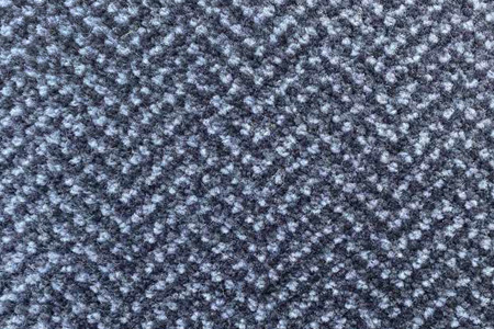 Axminster Cut Pile wool carpet grey herringbone pattern